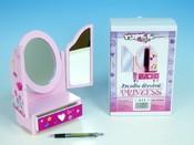 Zrcadlo 3-dílné Princess