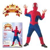 Karnevalový kostým Pavoučí muž vel. L (130-140 cm)