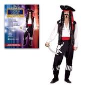 Karnevalový kostým Kapitán pirátů vel. 52 cm