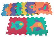 Merco pěnové puzzle Zvířátka 2 kód 9417 F pro děti od 10 měsíců