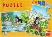 Puzzle 2x48 KRTEK v krabici