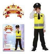 Dětský kostým Policie vel M