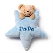 Chrastítko Hvězdička medvídek modrá