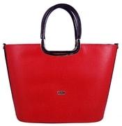 Luxusní kabelka do ruky S7 červená propíchaná