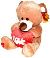 Plyšový medvídek se srdcem 30 cm