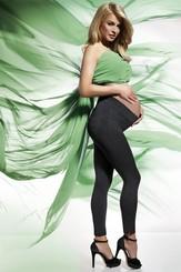 Těhotenské legíny Laura black