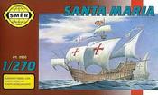 Model loď Santa Maria 1:270 (stavebnice lodě)