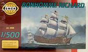 Model loď Bonhomme Richard 1:500 (stavebnice lodě)