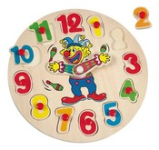 Klaun Otto hodiny puzzle