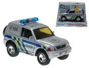 Auto Mitsubishi kovové policie 12 cm PB (zpětný nátah)