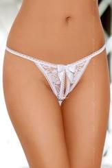 Erotická tanga 2306 white
