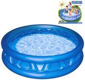 Bazén kónický 188 x 46 cm - kónický nafukovací modrý