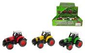 Traktor kovový 8 cm