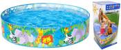 INTEX Bazén zvířata samonosný 122 x 25 cm