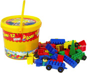 012 Stavebnice polytechnická kbelíček 12