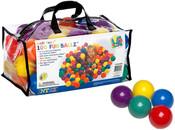 Míčky 6,5 cm 100 ks do hracích koutů nebo bazénů 49602
