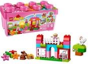 DUPLO Růžový box plný zábavy 10571 STAVEBNICE