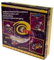 SEVA 6 Elektro Stavebnice polytechnická 625 dílů