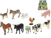 Zvířátka domácí FARMA 5 - 10,5 cm 10 druhů