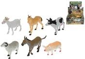 Zvířátka domácí Farma 8-13 cm (1 ks)