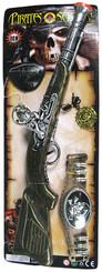 KARNEVAL Sada pirátská s doplňky 52 x 19 cm Puška