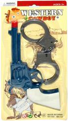 Set Westernový pistole a pouta