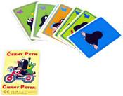 Hra Černý Petr KRTEK karty v papírové krabiččce