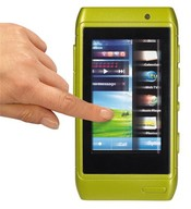 Mobil s dotykovým displejem, 2 druhy