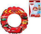 Kruh nafukovací auta CARS 51 cm plavací kolo 58260