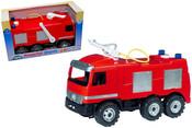 Auto Mercedes hasič 70 cm 2028 požární auto, stříká vodu