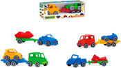 Auto s přívěsem Kid Car SPORT 25 cm