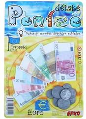 Peníze dětské EURO