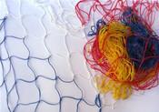 Síť dekorační veselá na aranžování - zavěšování hraček