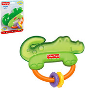 Kousátko Krokodýl s chrastítkem BABY Pro miminko PLAST Karta