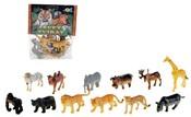 Zvířátka safari (divoká) malá 12 ks