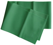 Gumová stuha na aerobic - zelená