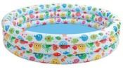 Bazén barevný tříkomorový 168 x 41 cm