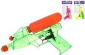 Vodní pistole 25 cm transparentní(pistole na vodu)