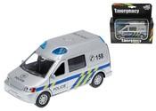 Auto Policie 14 cm kovové,se světlem a zvukem