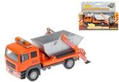 Auto nákladní s kontejnerem 14 cm se zvukem kovové