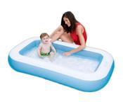 Bazén obdélník nafukovací 166 x 100 x 28 cm
