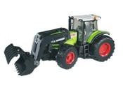 Traktor CLAAS s čelním nakladačem