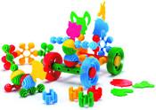 Funny block 45100 plastová skládačka zvířátka 41830