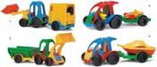 Traktor/auto s přívěsem 35200