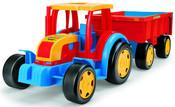GIGANT traktor s vlekem 66100 na písek