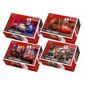 PUZZLE 54 dílků Cars 2 mini