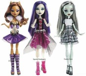 MONSTER HIGH Příšerka oživlá