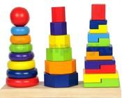 Set skládacích věží