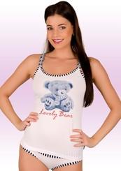 Dámská košilka ramínka 52/1-30/D141 Bear