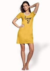 Dámská noční košile s nápisem Love it